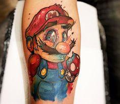 Cartoon Tattoo by Felipe Rodrigues | Tattoo No. 13042