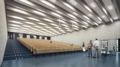 Building O – University of Antwerp Auditorium and Research Building Winning Proposal (5)