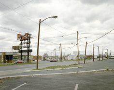 Stephen Shore (Uncommon Places) U.S. 22, Union, New Jersey, April 24, 1974
