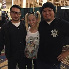 #bayareatattooconvention #goodlookingguys #horikiku & #horitomo_stateofgrace