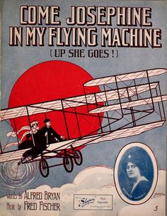 Up she goes! Music of 1910.