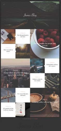Might have fallen into a hipster hole, however the typography and the aesthetics of this layout are nice. Specifically the typography overlaid on the photographs