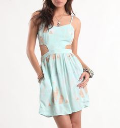 Kirra Cutaway Back Bustier Dress - PacSun.com