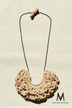 #colarmarina | Mariana Mazzaro crochet