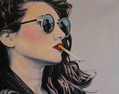 "MY FAVE! Saatchi Art Artist Cindy Press; Painting, ""Planning My Escape"" #art"