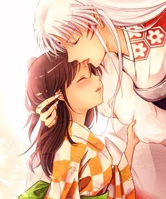 Sesshomaru and Rin~A Different Kind of Kiss