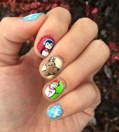 Polish Pals: Christmas Nails 2014