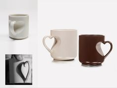 heart shaped mug - Alice Zohar