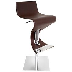 Like a salsa dancer the Viva bar stool adds instant movement and swing to any