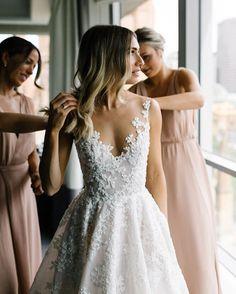 pretty top of wedding dress