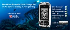 iPhone Dive Computer | Scuba Diving iPhone Case, Dive Log