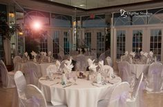 Imperial Ballroom.  Grand Plaza Resort.  St Pete beach, Florida weddings.  Night time photo.  www.grandplazaflorida.com - compliments of Digitar Studios