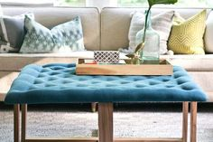 Take your living room to the next level by making furniture yourself from easily accessible materials. Ranging from rustic to industrial to Mid-Century modern, this collection of beginner-friendly, do-it-yourself projects will have you reaching for the nearest wood clamp.
