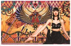 朝ドラも注目、刺繍アートの清川あさみ展 | ニュース | Lmaga.jp