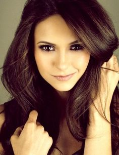 I really am convinced that Nina Dobrev is the most beautiful woman in the world.