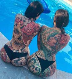 Sexy Tattoos For Girls, Tattoed Girls, Inked Girls, Tattoos For Women, Ladies Tattoos, Hot Tattoos, Life Tattoos, Tatoos, Tattoo Mania