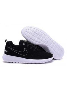 low priced 6bab2 ac454 Nike Roshe One N7 Dam Herr Svart Vit SE434472