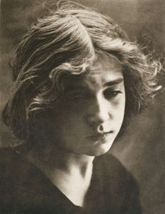 """arsvitaest:  """"Magdalene"""" Author: Aura Hertwig  (German)Medium: PhotogravurePublished: Die Kunst in der Photographie, 1900"""
