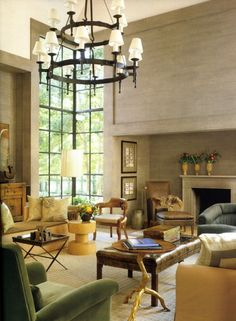 Living room by designer Ray Booth. Veranda.