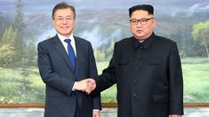 North Korean leader Kim Jong Un and South Korean President Moon Jae-in met for the second time in a month on Saturday to discuss carrying out the peace commitments they reached in their first summit and Kim's potential meeting with President Donald Trump, Moon's office said.
