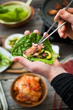Ssam – korealainen lihaherkku