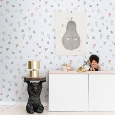 Hillevi green is an airy and bright wallpaper with a green botanical pattern. Perfect for the kids room where it creates a homely atmoisphere. Bright Wallpaper, Classic Wallpaper, Kids Room Wallpaper, Wallpaper Size, New Wallpaper, Flower Wallpaper, Pattern Wallpaper, Cool Kids Rooms, Interiors