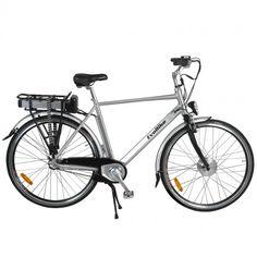 En rigtig komfortcykel med 7 gear og en råstærk 250w børsteløs motor.  Motoren får strøm fra et kraftfuldt lithiumbatteri på hele 36v 10AH. 250W! 7578ac80cc431