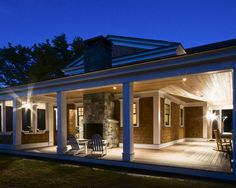 Traditional Exterior Homes With Wrap Around Porches Design, Pictures, Remodel, Decor and Ideas - page 2