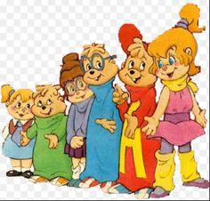 Always watched Alvin & the chipmunks.