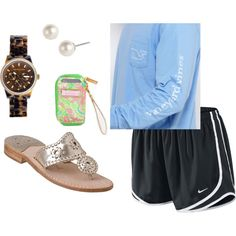 """""""Running Errands"""" by southern-prep on Polyvore"""
