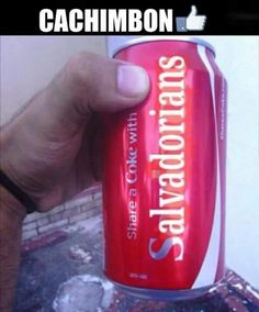 Share a coke. Salvadorian Food, Countries In Central America, Funny Memes, Hilarious, San Salvador, My Roots, Honduras, Coke, Country