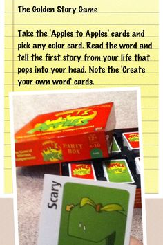 Came up with this game yesterday with a friend. Could use at any party or event -- or you could have them pick a card and tell how that card relates to their faith story or whatever topic you are talking about that night at youth group. Things To Do At A Sleepover, Fun Sleepover Ideas, Sleepover Activities, Youth Activities, Sleepover Party, Slumber Parties, Therapy Activities, Teen Party Games, Fun Games
