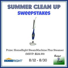Summer Clean Up Sweepstakes