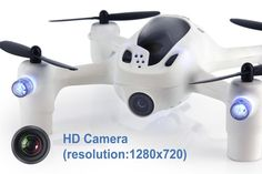 Hubsan FPV X4 Plus H107D+ Quadcopter Drone RTF Mode 2 w/ 720P HD Camera 6-Axis Gyro 4-ch 2.4Ghz & 5.8Ghz