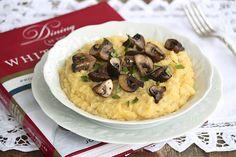 White House Chef John, Parmesan Mushroom Polenta