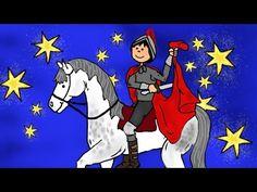 Sankt Martin ritt durch Schnee und Wind - Kinderlieder zum Mitsingen - Laternenlied - Martinssingen - YouTube