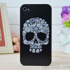 Floral Punk Skull Iphone Cases for Iphone 4/4s/5 only $15.99 in ByGoods.com