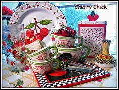 Cherry Chick: I Saw Them....I Wanted Them....I Found Them....I Bought Them! Cherry measuring cups...