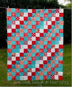 square quilt for beginners...possibilities?
