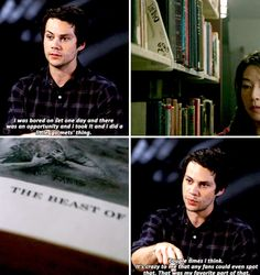 Dylan O'Brien - Teen Wolf - I know you did a shoutout on Teen Wolf to the Mets.
