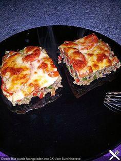 Hackfleisch-Pizza, ein schönes Rezept aus der Kategorie Gemüse. Bewertungen: 39. Durchschnitt: Ø 3,9.