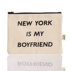 NY Boyfriend Pouch by Pamela Barsky