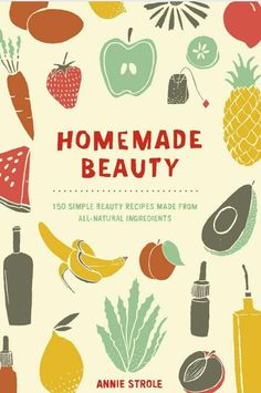 Homemade Beauty Recipe Books! Love crafting natural homemade beauty recipes? Then give the book, Homemade Beauty, a look! This book contains 150 natural skin, hair and body care recipes.