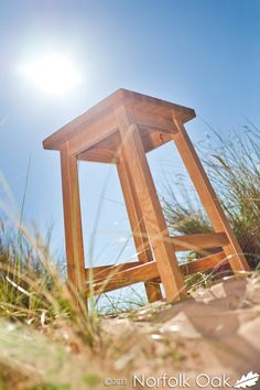 Our Oak Stools are available in two different heights and will look wonderful in your home.