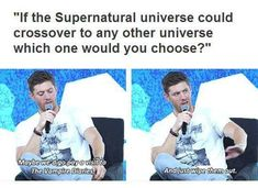 Supernatural crossover with Vampire Diaries  We could just wipe them out