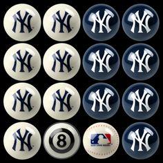 New York Yankees Billiard Ball