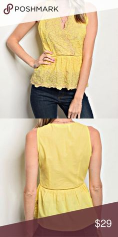 bb0026be277 Available by Angela s Fashions This cute blouse is ready for bright sunny  days. It will