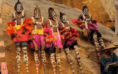 west africa dogon masks