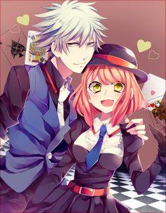 I personally don't ship these two but, whatever - Ichigo Ranmaru and Haruka UtaPri