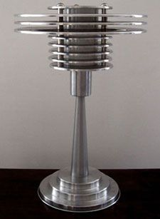 Art Deco Lamp. /deidra/ Brocké Wallace   want a pair of these for bedside lamps